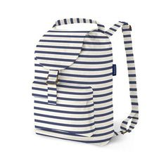 Baggu backpacks: They hold up to 50 pounds fold unto their own pocket and are Canvas Backpack, Backpack Bags, Fashion Backpack, Mini Backpack, Travel Backpack, Striped Backpack, Striped Bags, Striped Canvas, Little Backpacks