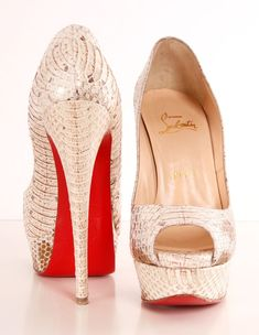 CHRISTIAN LOUBOUTIN HEELS Michelle Coleman HERS 9429 |2013 Fashion High Heels|