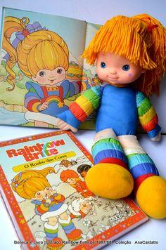 Boneca Rainbow Brite de 1988