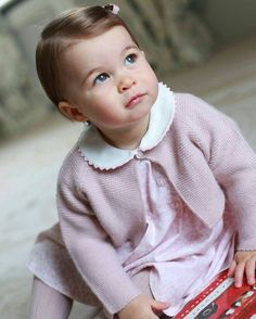 The Duke and Duchess of Cambridge  are delighted to share new photographs of Princess Charlotte.  copyright of HRH The Duchess of Cambridge.