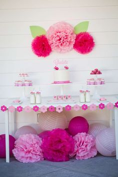 garden party Birthday Party Ideas | Photo 1 of 45 | Catch My Party