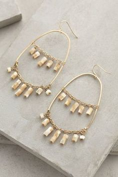 Anthropologie Edme Hoops #anthrofave #anthropologie