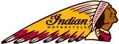 Old school indian moto logo