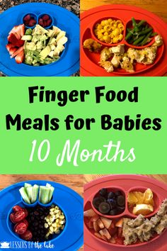 Baby First Foods, Baby Finger Foods, Toddler Meals, Kids Meals, Baby Meals, Toddler Food, Toddler Nutrition, 10 Months Baby Food, 10 Month Old Baby Food