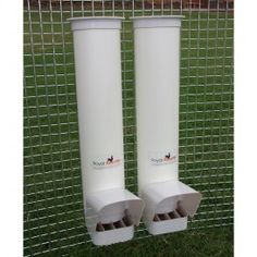 Two Feeders - with Rain Covers