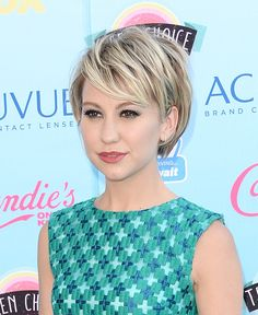 Chelsea Kane Lookbook: Chelsea Kane wearing Pumps (3 of 9). Chelsea Kane let her dress take center stage by opting for more basic nude pumps.