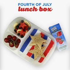 This 4th of July lunch box is guaranteed to make fireworks!