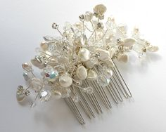 Finish off the look with a handmade Freshwater Pearl hair comb by Dainty drops https://www.etsy.com/uk/shop/DaintyDropsUK