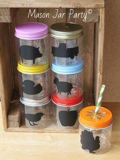 Plastic Mason Jars 10 Plastic Mason Jar Cups 8oz by MasonJarParty
