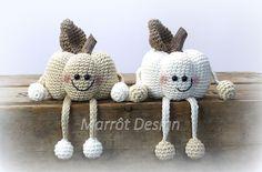 Mesmerizing Crochet an Amigurumi Rabbit Ideas. Lovely Crochet an Amigurumi Rabbit Ideas. Crochet Pumpkin, Crochet Fall, Holiday Crochet, Crochet Home, Free Crochet, Halloween Crochet Patterns, Crochet Patterns Amigurumi, Knitting Patterns, Thanksgiving Crochet