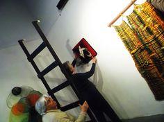 Montaje de las muestras del Espacio Cultural Carlos Gardel