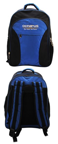 Backpack exclusively manufactured for Olympus by Crea - India's smartest brand merchandising company.