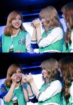 TWICE - Mimo The way Mina looked at Momo though