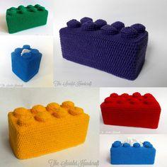 Lego Tissue Box Cover!