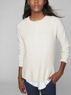 Athlete Merino Wool Tunic Sweater
