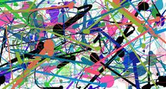 Jackson Pollock by jellyrollpudding