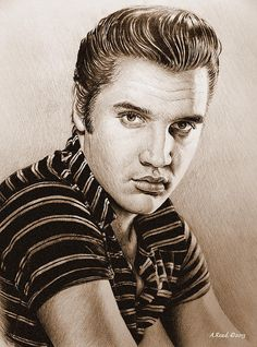 Young Elvis Music legends