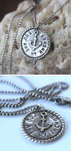 You Are My Anchor Necklace ♥