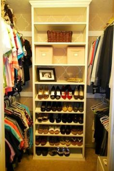 Closet Organization Ideas for Every Space in Your House ★ See more: http://glaminati.com/closet-organization-ideas-in-house/