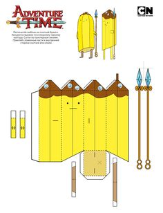 142 Best Adventure Time Papercraft Images Adventure Time
