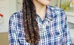 Double Fishtail Braid Tutorial Hairstyle • Bebexo Hairstyles & Beauty Blog
