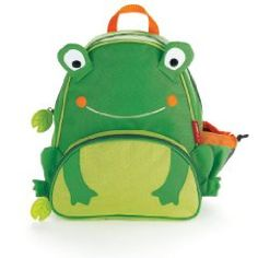 Frog baby backpack