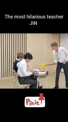 Jungkook Funny, Bts Jin, Bts Taehyung, Bts Bangtan Boy, Bts Jungkook, Bts Memes Hilarious, Bts Funny Videos, Bts Facts, Bts Funny Moments