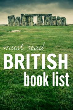 A British book list for moms who love to read Put these on your TBR (to be read) list. If you love reading and love thrift books, this is for you!