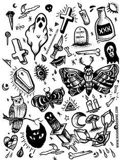34 ideas tattoo old school traditional flash art Flash Art Tattoos, Tattoo Flash Sheet, Body Art Tattoos, New Tattoos, Hand Tattoos, Tatoos, Poke Tattoo, Arm Tattoo, Ouija Tattoo