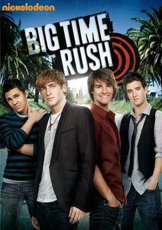 Big Time Rush con Carlos Pena, Kendall Schmidt, James Maslow, Logan Henderson. Big Time Rush es una serie de televisión estadounidense que originalmente salió al aire en Nickelodeon a partir del 2009 al 2011