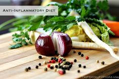 """So, what is an Anti-Inflammatory Diet? No it's not a fad diet or a weight loss diet. It is a diet that promotes increasing foods that help prevent and neutralize inflammation and free radicals, and avoiding those foods that are known to cause inflammation. In layman's terms it's a diet packed full of vitamin, minerals, antioxidants, fiber and Omega 3 Fatty Acids. When I use the term """"diet"""" I do refer to it as """"I am going on a diet,"""" but rather using it like it's definition is intended """"the…"""