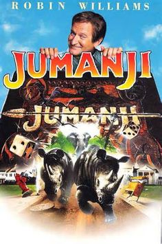 Jumanji - I watched this movie so many times. Loved Robin Williams in it. This was the first movie that I actually seen Kirsten Dunst in too. She was just a child then. Very funny movie that the whole family can enjoy! Jumanji 1995, Jumanji Movie, Film Movie, See Movie, Movie Plot, Movies Showing, Movies And Tv Shows, Thriller, Vintage Movies