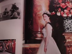 The Queen photographed by Cecil Beaton in 1953 Cecil Beaton, Backless, Queen, Painting, Dresses, Fashion, Cut Outs, Vestidos, Moda
