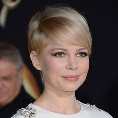 Michelle Williams in a cute short mod style
