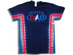 Perfect Grateful Dead shirt for dad! http://www.band-tees.com/store/G_05200_216!SUNDG/Grateful+Dead+Grateful+Dad+Tie-Dye+T-shirt