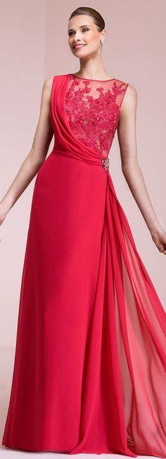 Gorgeous ,Long, sleeveless ,lace,red,symmetry,Bridesmaid Dress with Belt, new #prom #promdress #dress #eveningdress #evening #fashion #love #shopping #art #dress #women #mermaid #SEXY #SexyGirl #PromDresses