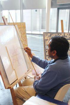 Atelier azulejos au salon de l 39 immobilier du portugal l - Salon de l immobilier et du tourisme portugais ...