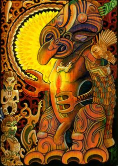 Ta Moko, Maori Art & Ornamental Tattoos by Turumakina & Ifyrefini Duley. Arts Elemental - Based on the Gold Coast & Brisbane; Indigenous Art, New Zealand Art, Maori Art, Painting, Visual Art, Art, Island Art, Beautiful Art, Nz Art