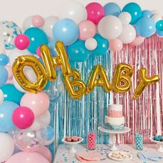 Gender Reveal Party Decoration Ideas Inspirational Gender Reveal Party Supplies Balloon Garland Kit Balloon Arch Kit with 90 Balloons Small Big Gold Confetti Blue Pink Balloons and More with Gender Reveal Party Supplies, Gender Reveal Themes, Gender Reveal Balloons, Gender Reveal Party Decorations, Baby Gender Reveal Party, Gender Party, Reveal Parties, Baby Reveal Party Ideas, Ideas Party