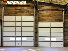Overhead Garage Door, Garage Doors, Bookcase, Home Decor, Decoration Home, Room Decor, Interior Design, Home Interiors, Book Stands