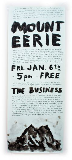 I'm playing a show for the first time in over 2 years. Eleven new songs. Fri. Jan. 6th 2017, 5pm, FREE at The Business, 216 Commercial Ave., Anacortes, Wash. U.S.A.