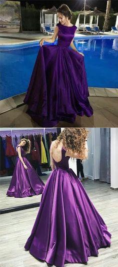Purples prom dress