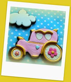 Do Açúcar Com Amor - Pinces & Princesses Cookies