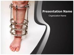 Orthopaedic PowerPoint Presentation Template is one of the best Medical…