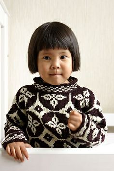 Little Majolica jumper by Kristin Nicholas.