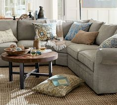 sectional layout love the idea of the sofa and two matching chairs rh pinterest com