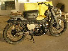 ct90 inspiration Brat Cafe, Honda Cub, Honda Bikes, Motorcycle Engine, Scrambler, Vespa, Motorbikes, Trail, Motorcycles