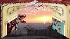 Winterlicher Sonnenaufgang auf dem Hof Sorgenlos