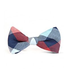 Look what I found on #zulily! Red & Blue Plaid Bow Tie #zulilyfinds