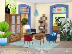 Sims 4 CC's - The Best: Brazil Study by Pilar